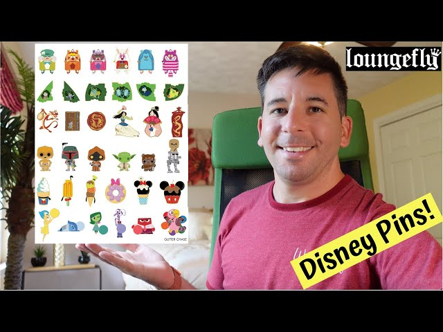 Unboxing SIX New Loungefly Blind Box Disney Pin Sets! | July 2020