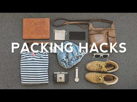 27 Travel PACKING HACKS – How to Pack Better!
