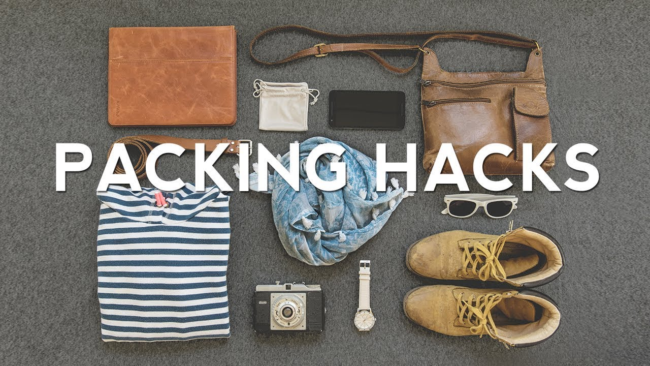 27 Travel PACKING HACKS - How to Pack Better!