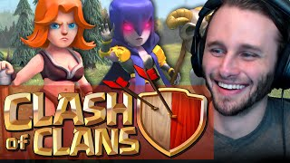 Clash of Clans | Mass Witches and P.E.K.K.A