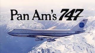 pan am s brand new 747 commercial 1969 color