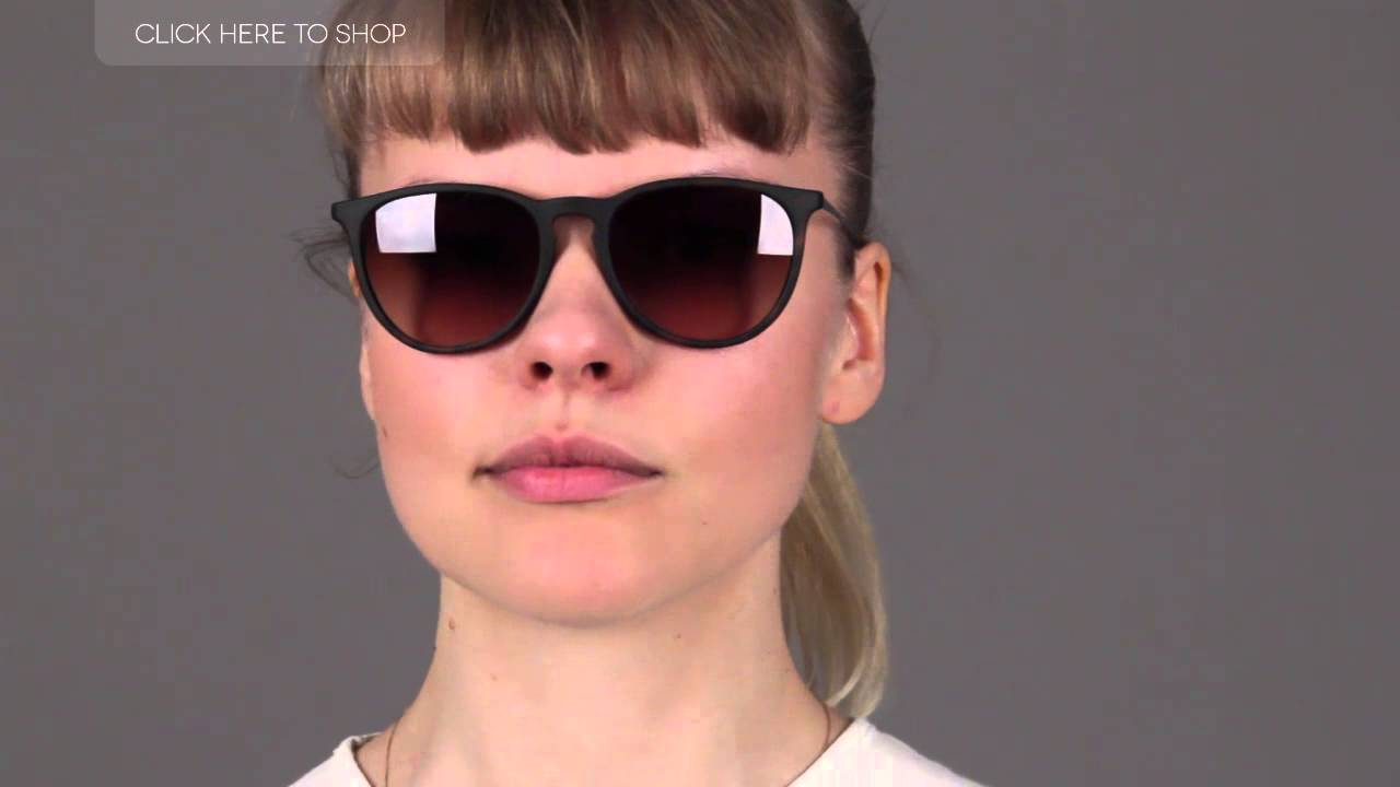 Ray-Ban RB4171 Erika Tortoise Sunglasses Review - YouTube 78f1bd6f1d