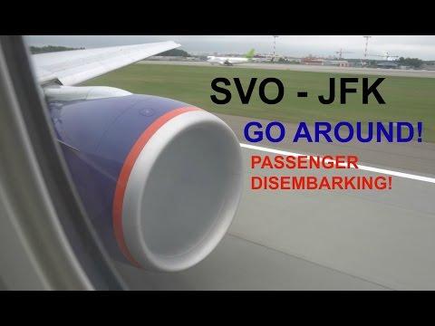 SU102: Engine Start, Takeoff, Go Around & Landing | Aeroflot 77W