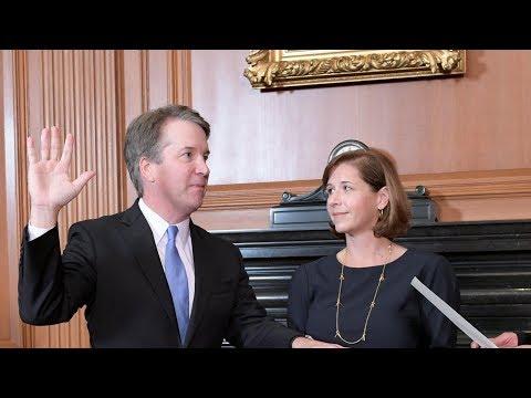 Brett Kavanaugh ceremonial swearing in as Supreme Court justice