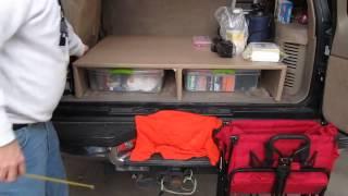 Discreet Prepper  - Prepper Truck Storage Ideas