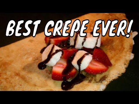 how to make homemade crepes