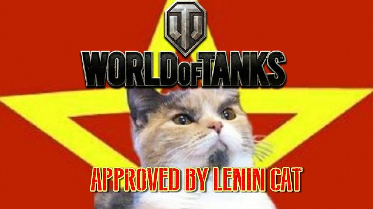 Lenin Cat Meme