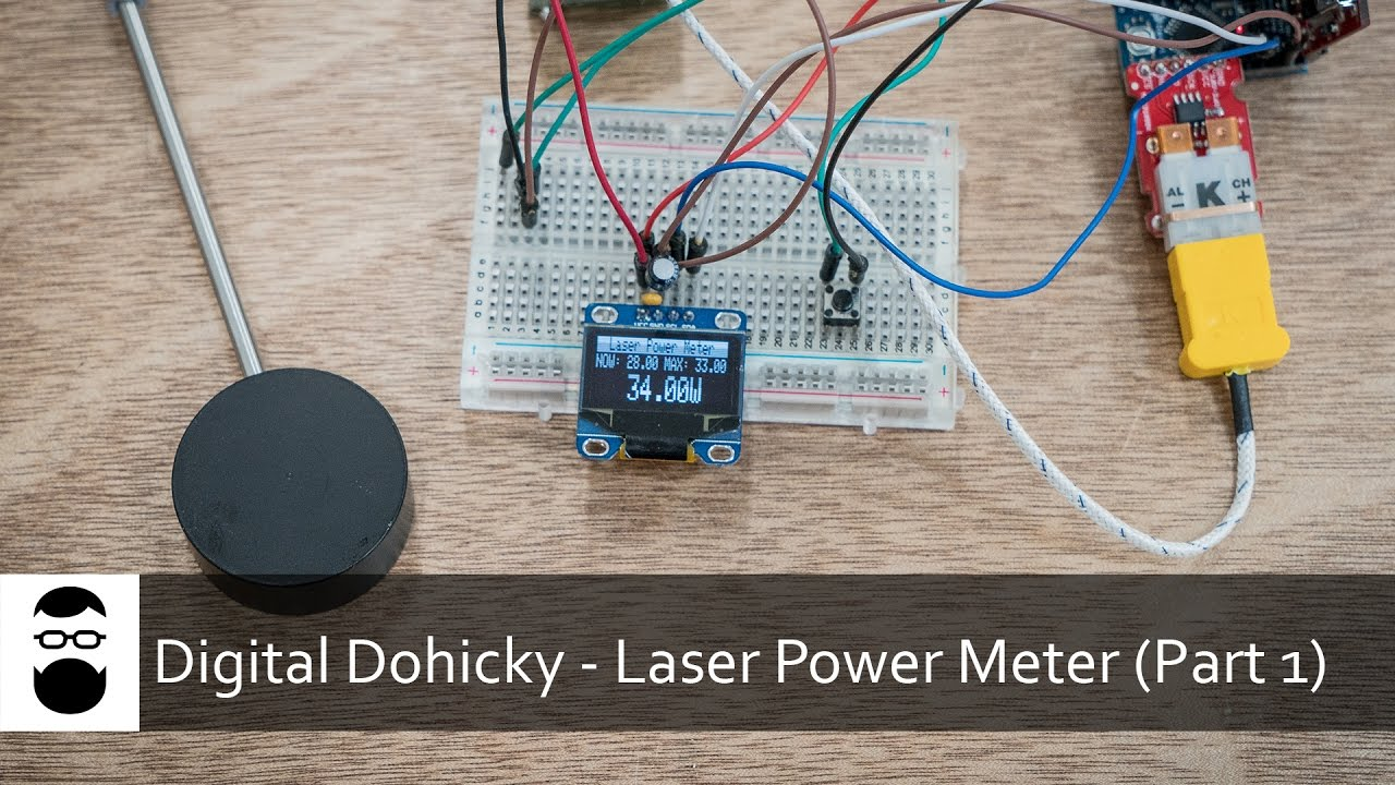 Digital Power Meter With Bms : Digital dohicky laser power meter part youtube