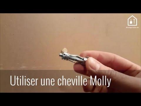 Conseil Bricolage Comment Utiliser Une Cheville Molly Youtube