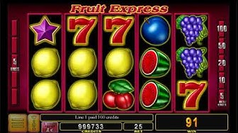 Fruit Express Online Slot by Noble Gaming | Neonslots.com
