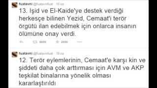 Fuat Avni Erdoğan AKP ve AVM binalarına saldırı planı hazırladı
