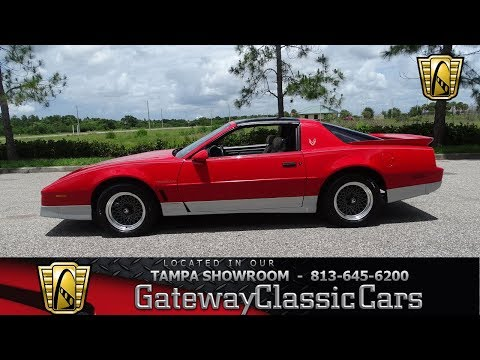 1987 Pontiac Trans Am Gateway Classic Cars of Tampa #1191