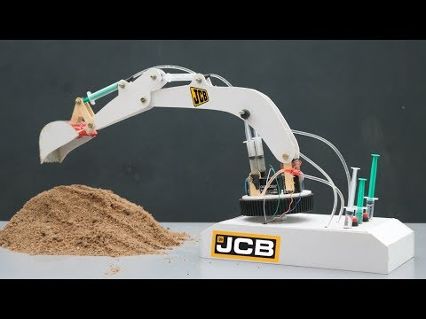🕹How To Make JCB Excavator At Home