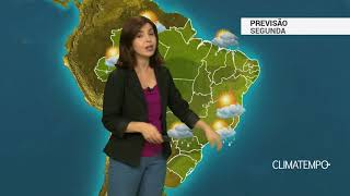 Previsão Brasil – Chuva aumenta no centro-sul do BR