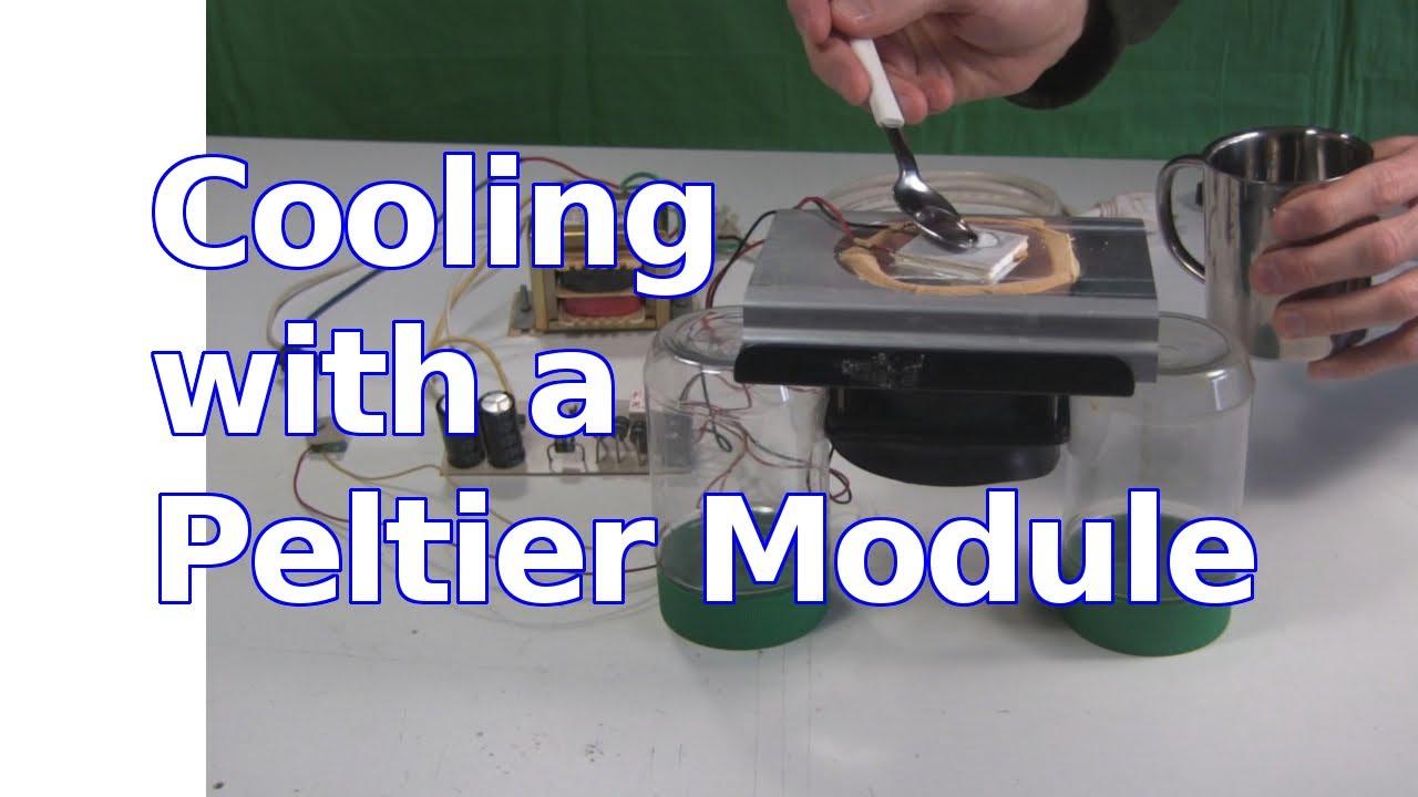 Peltier Module Cooling The Peltier Effect Youtube