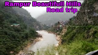 Alto || Rain || Shimla, Rampur Hills driving || Beautiful View