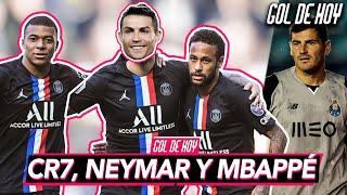 """CRISTIANO se FIJA en el PSG junto a Ney y Mbappé"" | El adiós de IKER CASILLAS | #goldehoy"