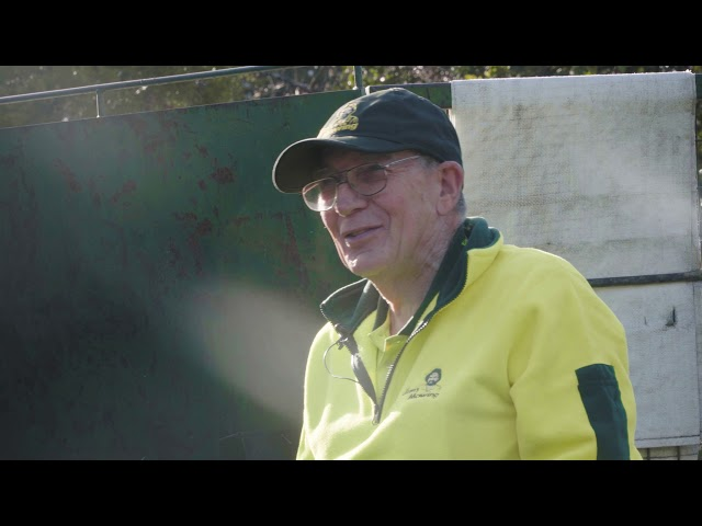 Meet Ian from Jim's Mowing who is 78 years young and has some great stories - www.jims.net - 131 546