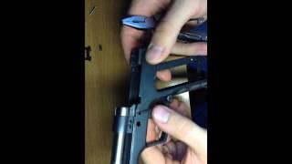 Полная разборка пистолета Гроза-021/Форт/Хорхе