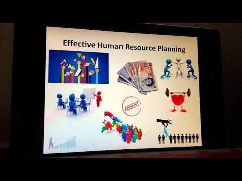 Human Resource Planning Training Presentation