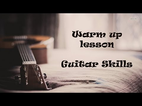 Warm Up Lesson - Fingerstyle exercise #2