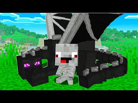 24 STUNDEN VON DRACHEN ADOPTIERT in Minecraft !