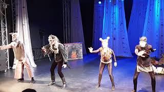 Спектакль «Мама» по мотивам сказки «Волк и семеро козлят» ч.1