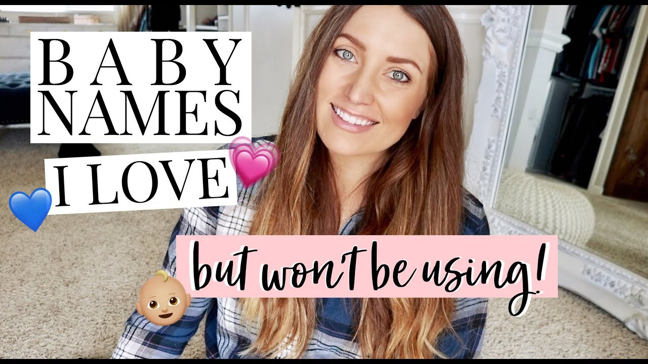 CLASSIC BABY NAMES I LOVE BUT WON'T BE USING! (BOY & GIRL) | Kendra Atkins