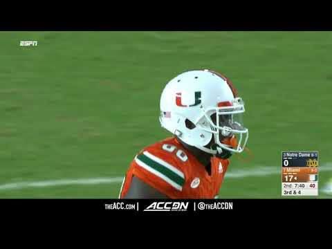 Notre Dame At Miami (FL) College Football Condensed Game