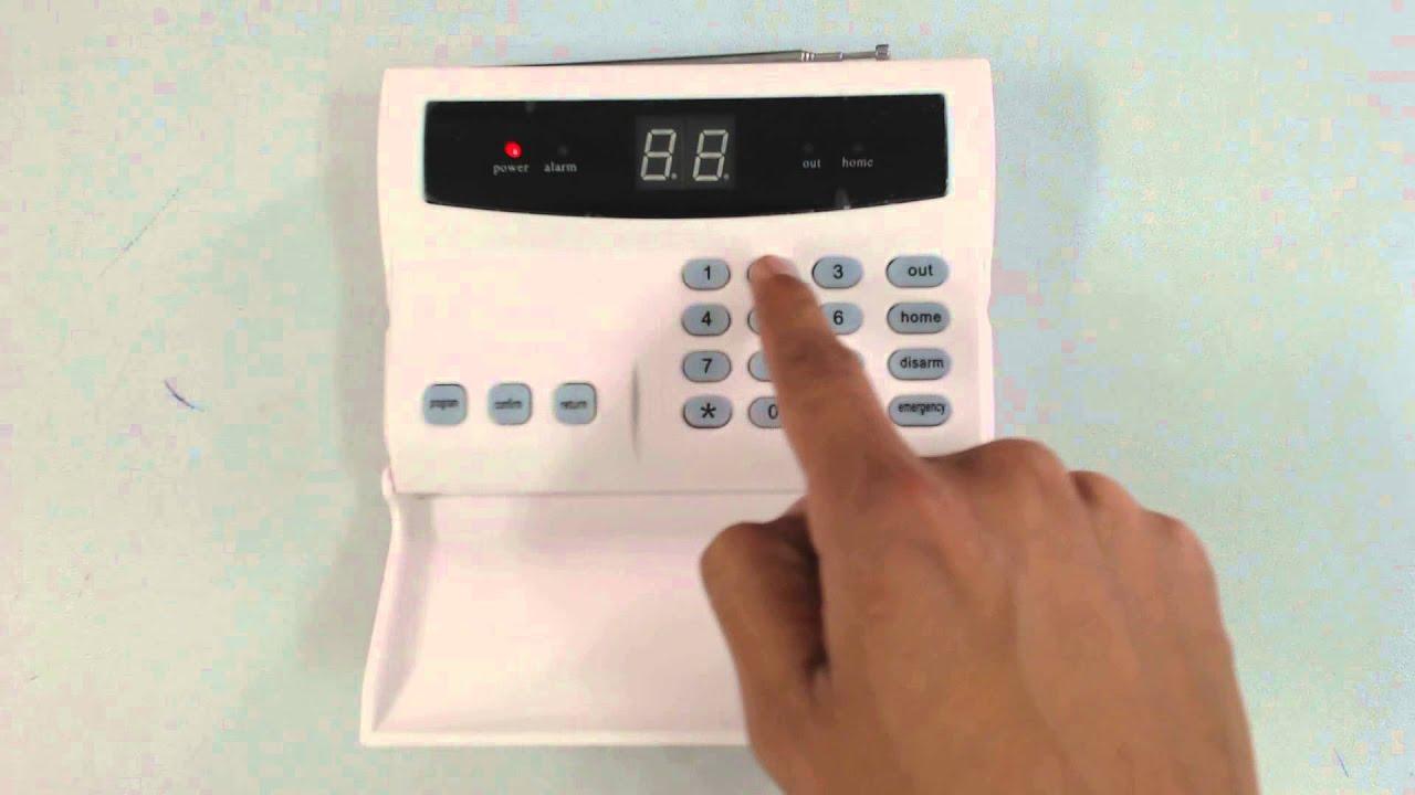 Security Alarm System Tutorial