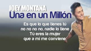 Joey Montana - Una En Un Millon Remix Feat. Chino & Nacho (Lyric Video)