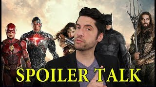 Justice League - SPOILER Talk