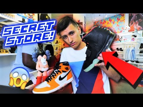 WE FOUND RARE YEEZYS! SECRET SNEAKER STORE IN TEXAS!
