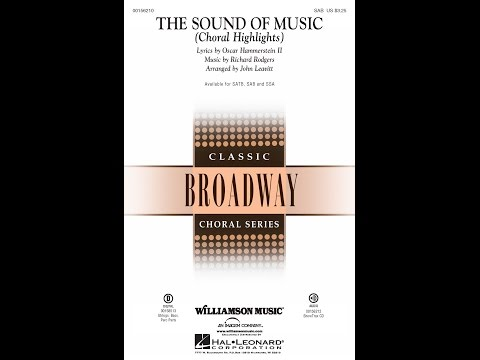 The Sound of Music (Choral Highlights) (SAB) - Arranged by John Leavitt