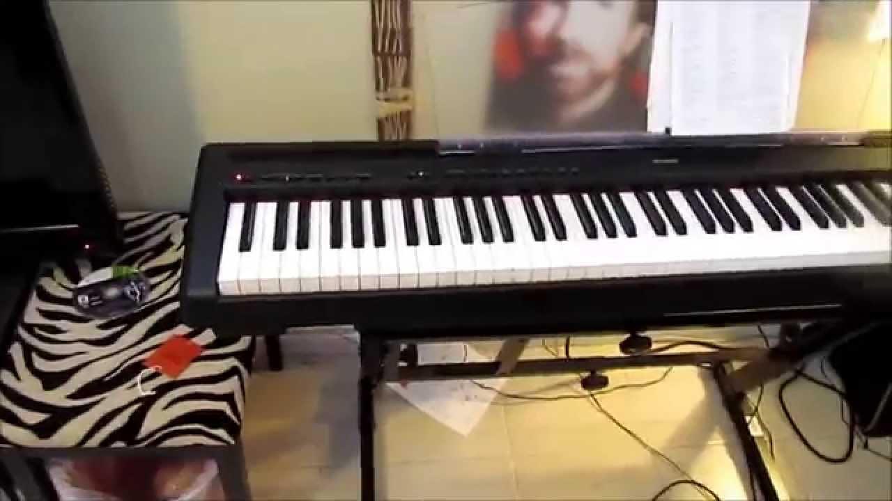 Yamaha P95 Digital Piano Review And Demo