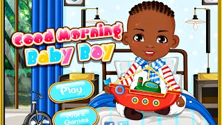 Good Morning Baby Boy- Free Online Baby Games for Girls Kids
