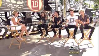 """One Direction en """"Nightline"""" (Subtitulada en español)"""