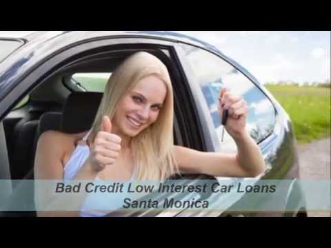 Bad Credit Car Loans Santa Monica