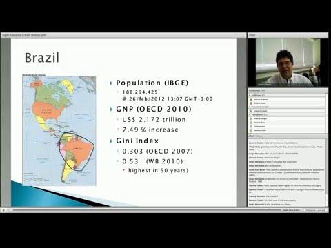 2012 Webinar #6   Internationalization of research in Brazil – Opportunities for international coope