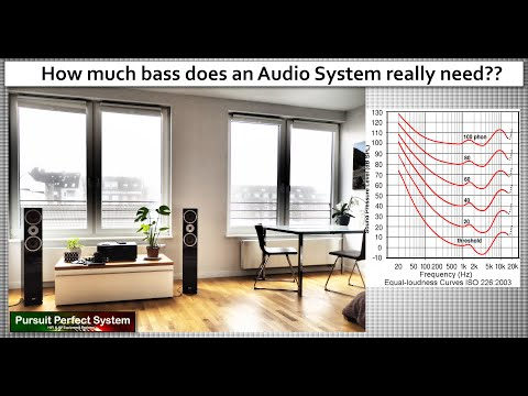 How Much BASS Does An Audio System Need To Be Perfect??  More Than You Might Think!!