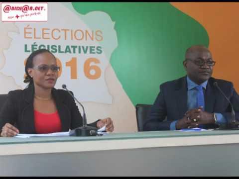 Legislative 2016/ 6e Session de la proclamation des résultats