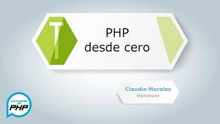 PHP desde cero HD parte 1