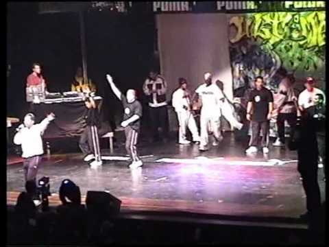 Ultimate B-boy Session Stuttgart 1998 - Kurtis Blow - New York City Breakers - Air Force Crew