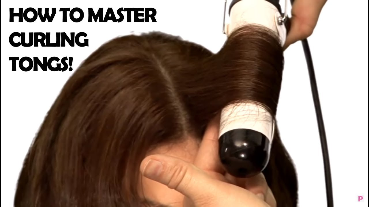 VIDEO: How To Curl Hair Using Tongs