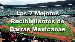 Los 7 Mejores Recibimientos de Barras Mexicanas