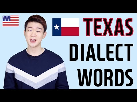 Texas Dialect(Texan) Words in the United States [Korean Billy]