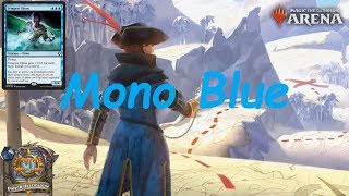 Magic Arena MTGA: Mono Blue Tempo Deck - Guilds of Ravnica - Standard Contructed