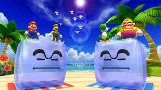 Mario Party 4 MiniGames - Mario Vs Luigi Vs Wario Vs Yoshi (Master Cpu)