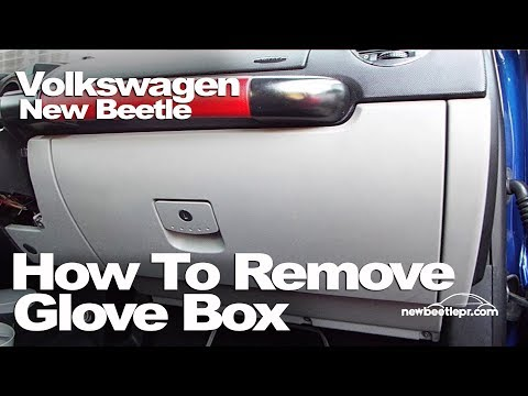New Beetle - How To Remove Glove Box