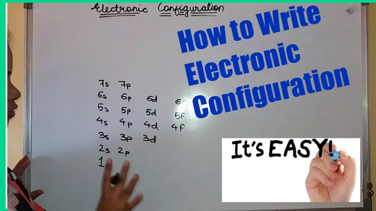 how to find out electron configuration